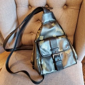 Nine West camo backpack